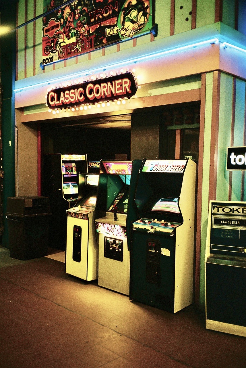"""Die """"Classic Corner"""" lädt zum Spielen ein... (Bild: André Eymann)"""