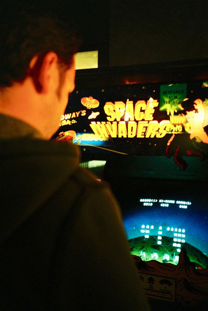 Der ultimative Automat: mit Space Invaders hat der Siegeszug der Videospiele in den Arcades so richtig begonnen. (Bild: André Eymann)