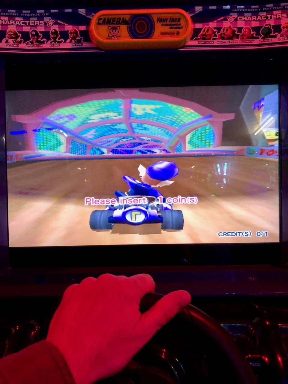 Let's Go! Mario Kart 2 Arcade GP in Aktion. (Bild: André Eymann)