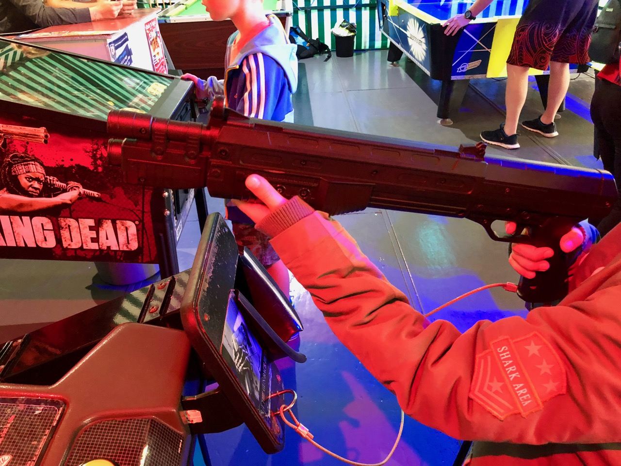 Ein Shotgun-Controller von House of the Dead 3. (Bild: André Eymann)