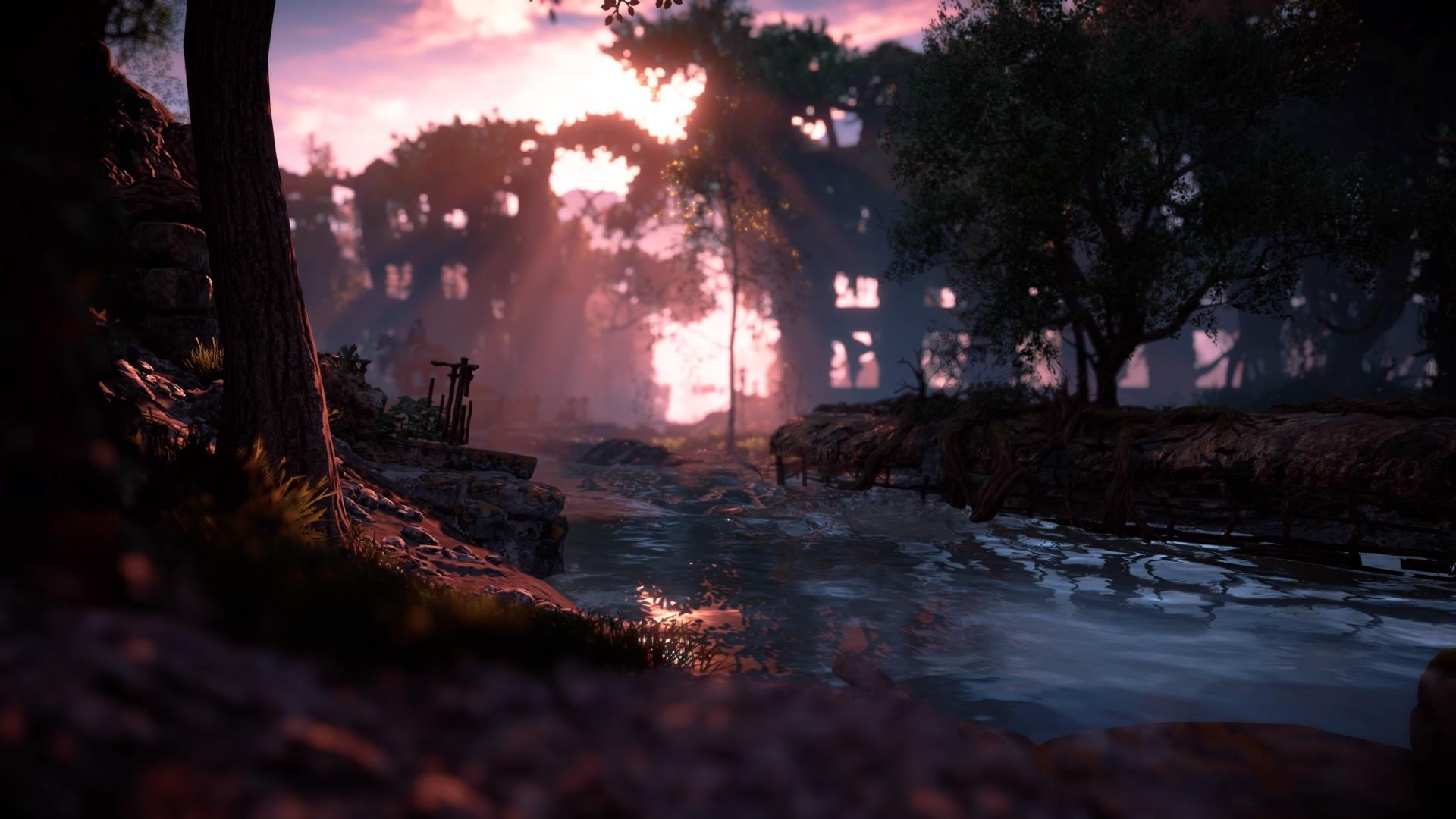 Die Welt in Horizon: Zero Dawn ist wunderschön. (Bild: Marina Schölzel, erstellt mit Photomode des Spiels)