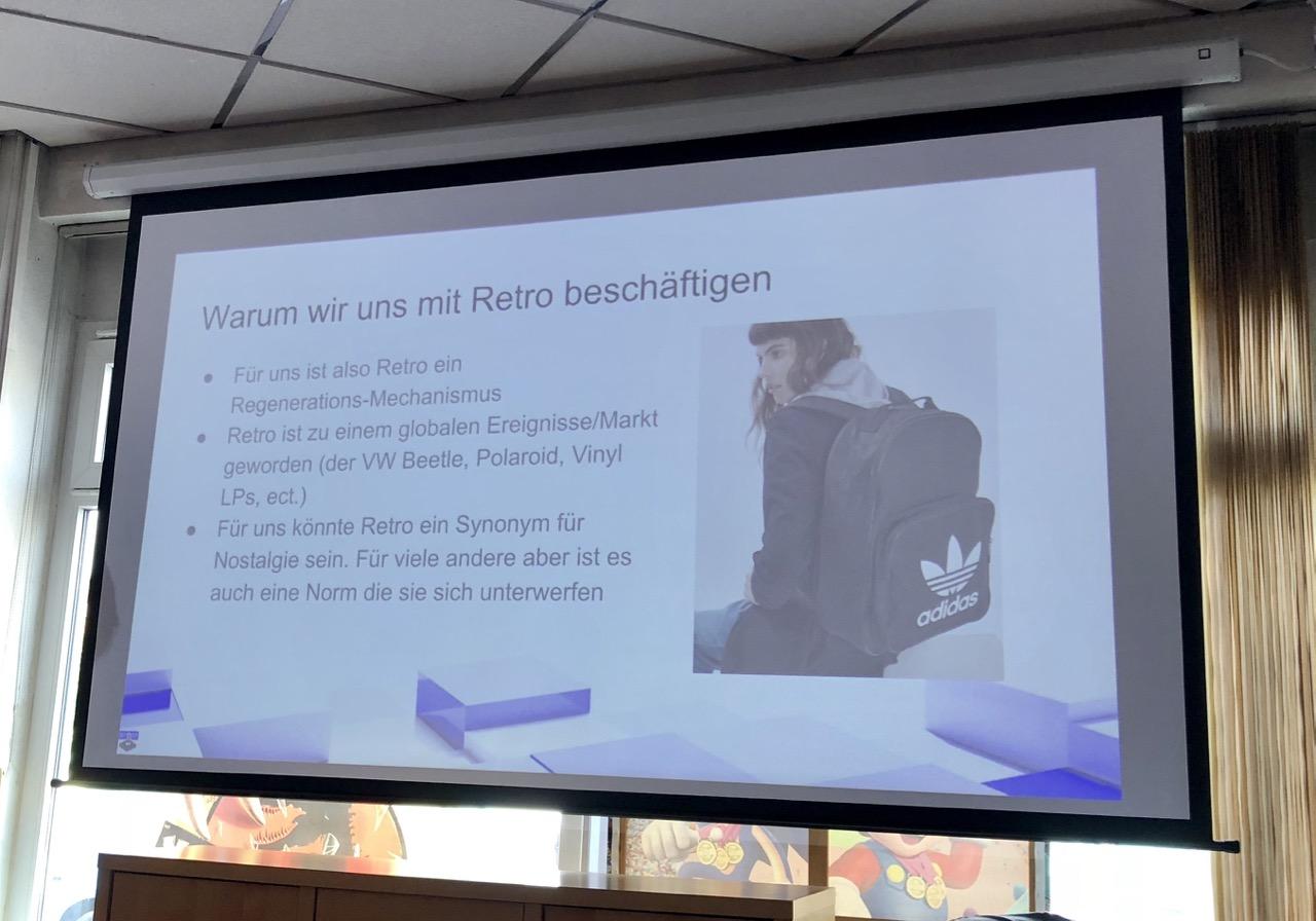 """""""Warum wir uns mit Retro beschäftigen"""". (Bild: André Eymann)"""