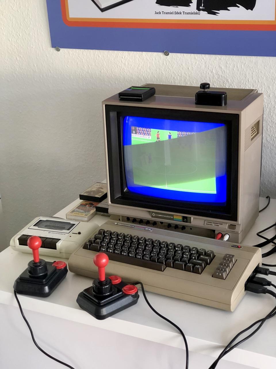 Der Klassiker C64 im Heimcomputer-Bereich. (Bild: André Eymann)