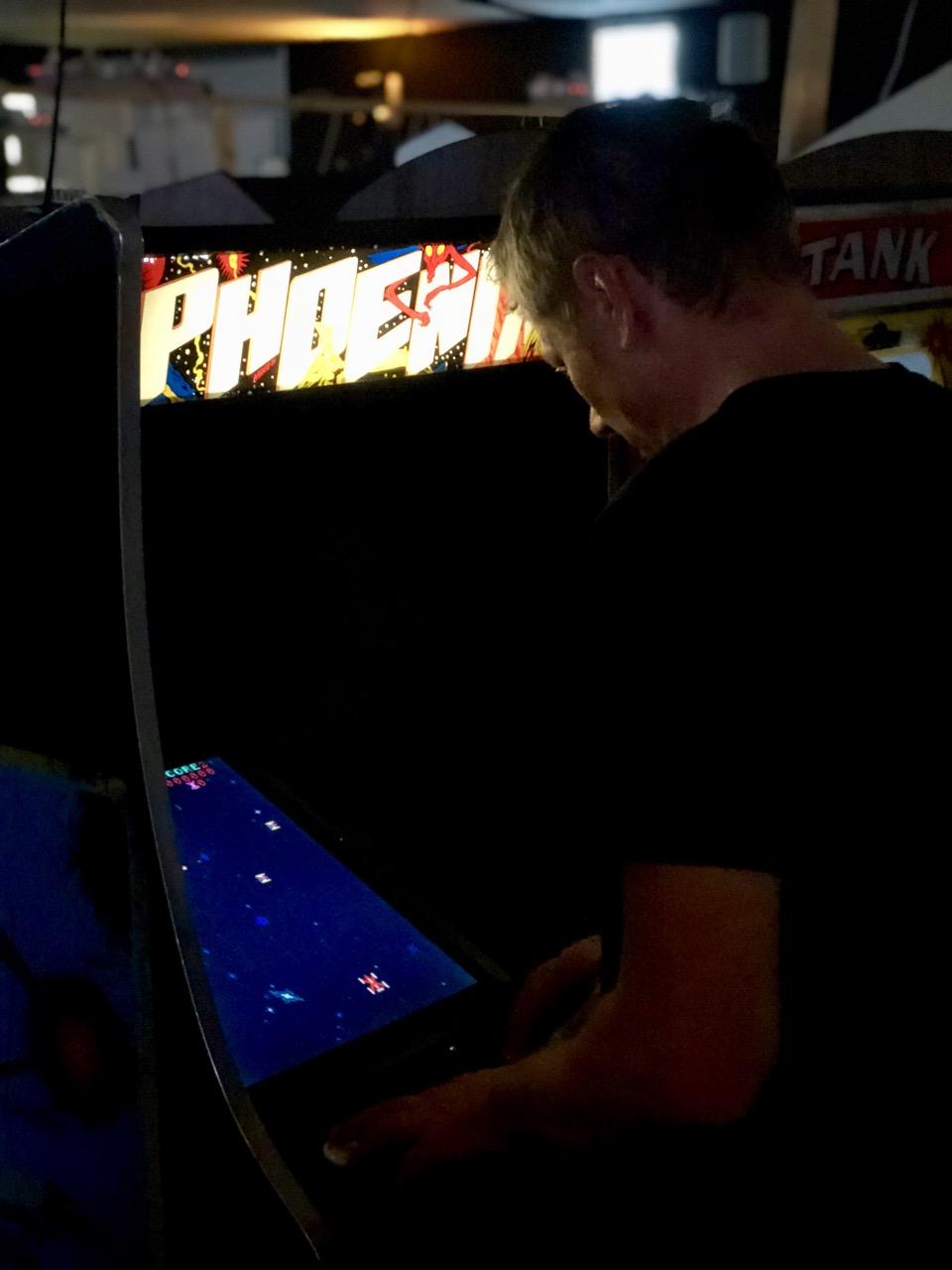 Spielen an Phoenix im Arcade-Bereich. (Bild: André Eymann)