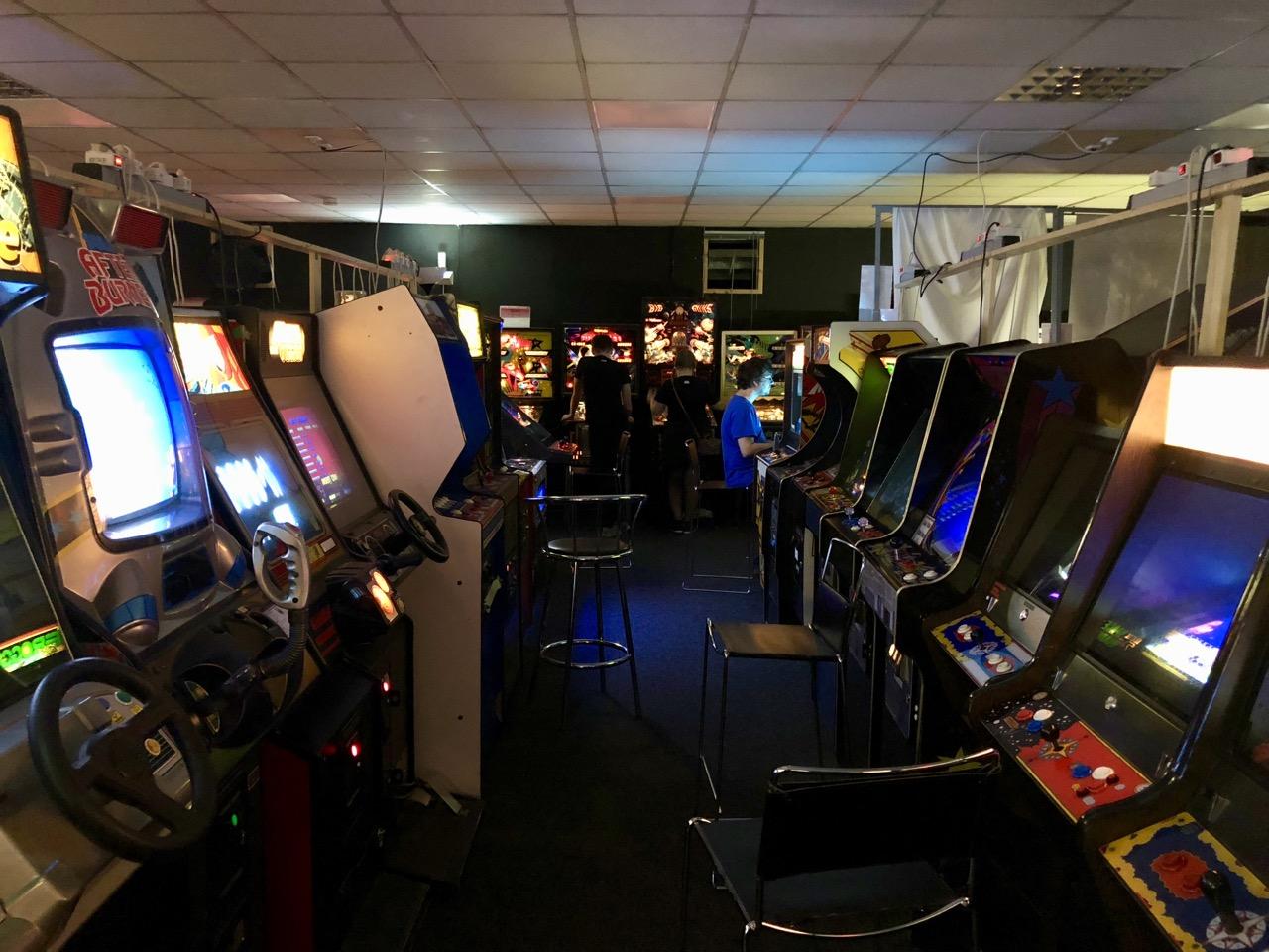 Videospielautomaten für jeden Geschmack. (Bild: André Eymann)