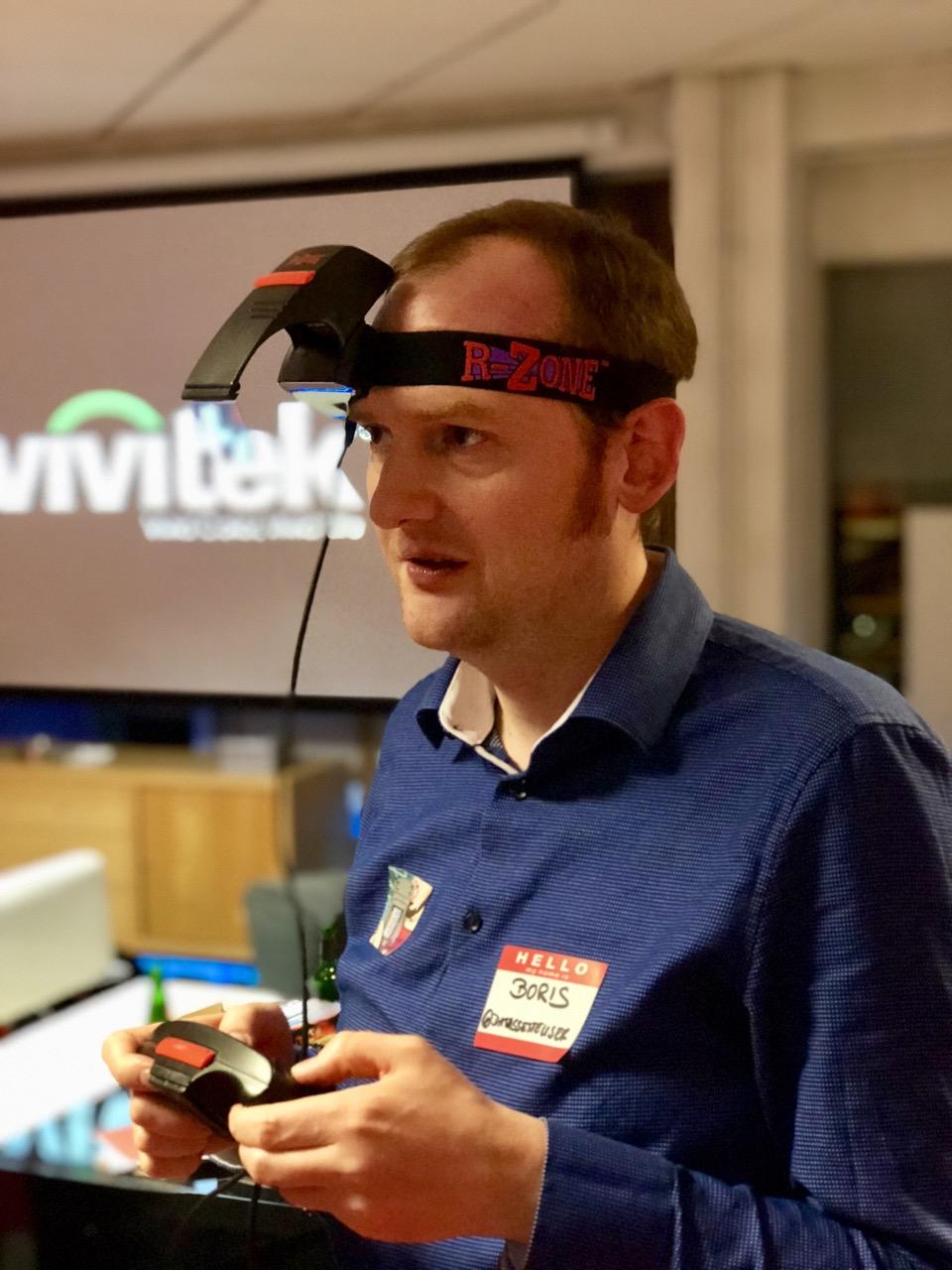 Beim Testen virtueller Peripherie. (Bild: André Eymann)