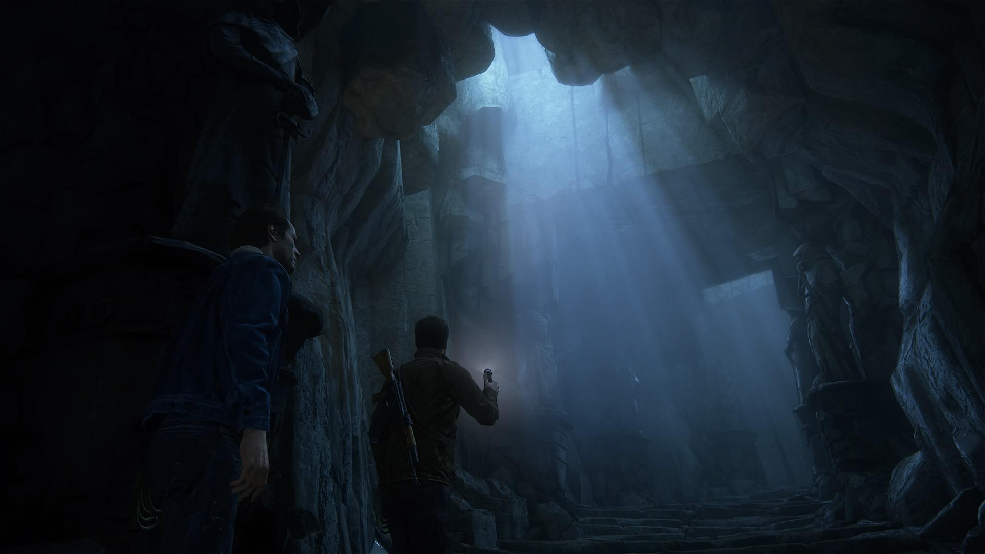 Story-Games haben es mir angetan. Hier ein Screenshot aus Uncharted 4: A Thief's End. (Bild: Marina Schölzel)