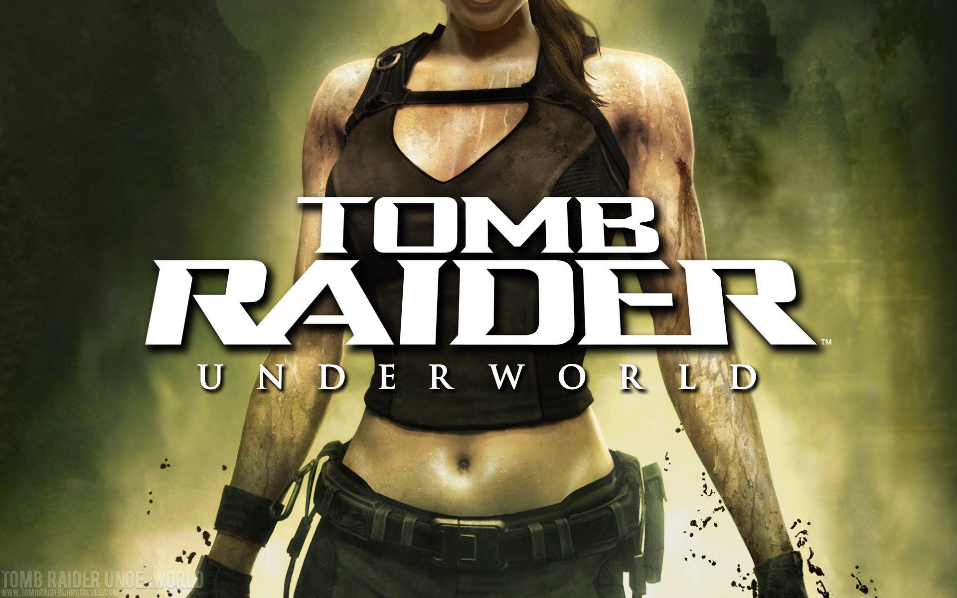 Werbung für Tomb Raider: Underworld. Lara ist längst zu einer Marke geworden. (Bild: Crystal Dynamics)