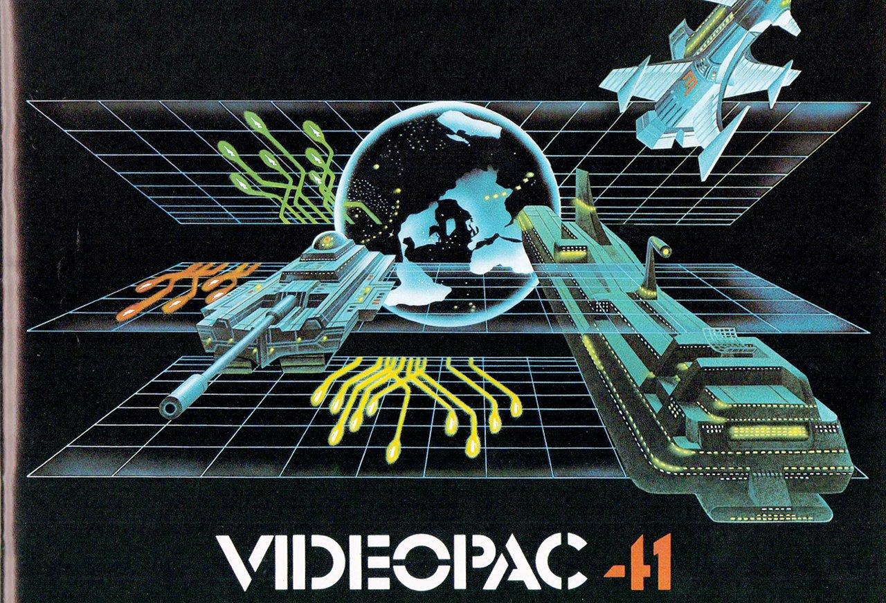 Artwork zum Philips Videopac 41 Spiel Die Eroberung der Welt (Bild: Philips)