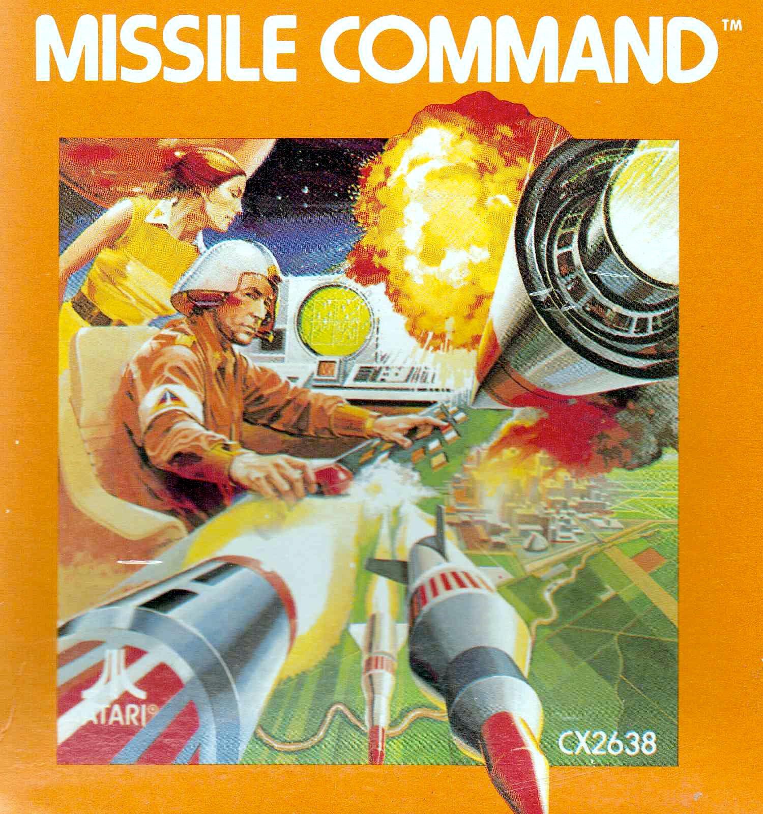 Missile Command für das VCS. Brennende Städte im heimischen Wohnzimmer (Bild: Atari)