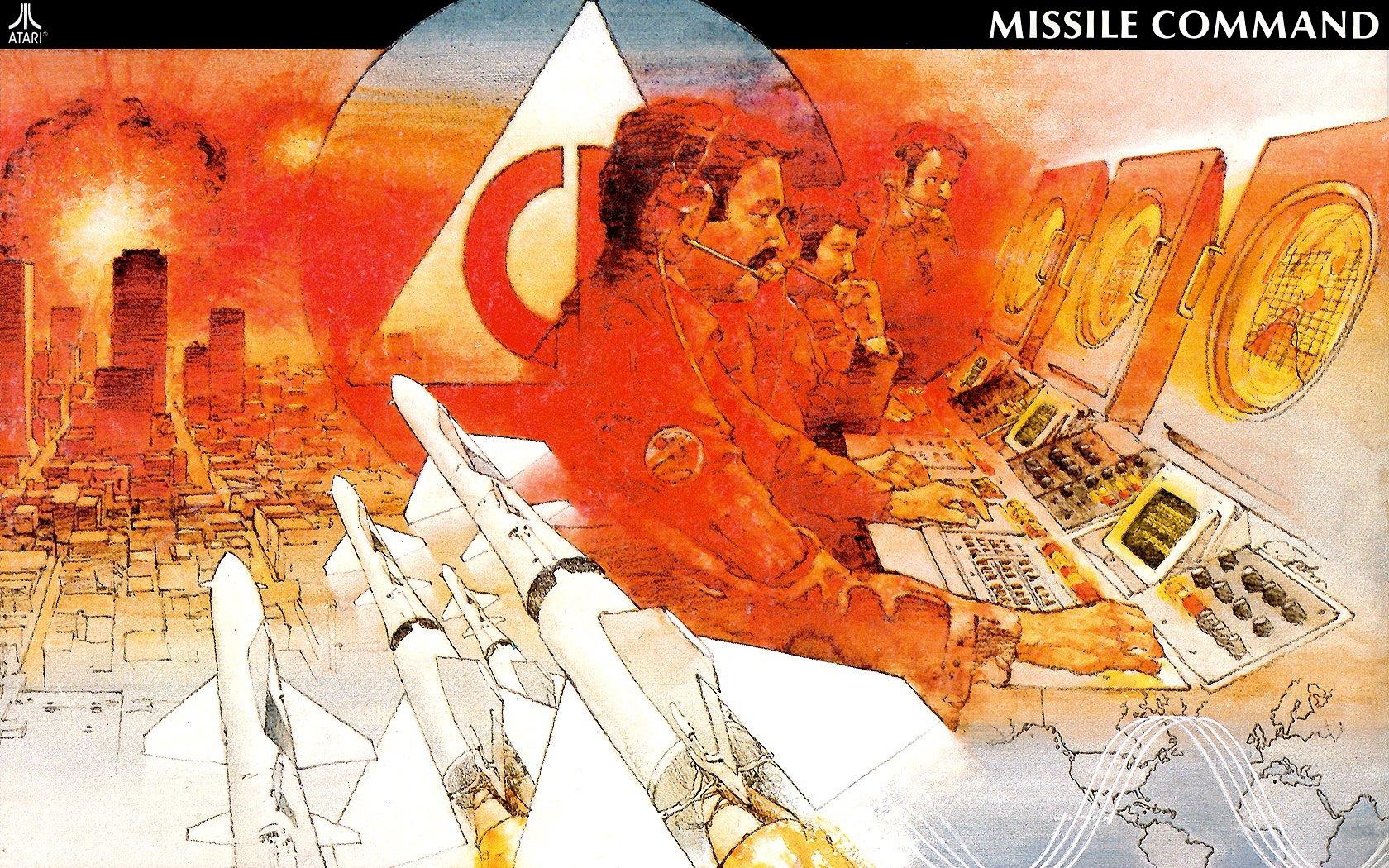 Missile Command für Atari 5200. Zerstörerische Kraft am Schaltpult der Macht (Bild: Atari)