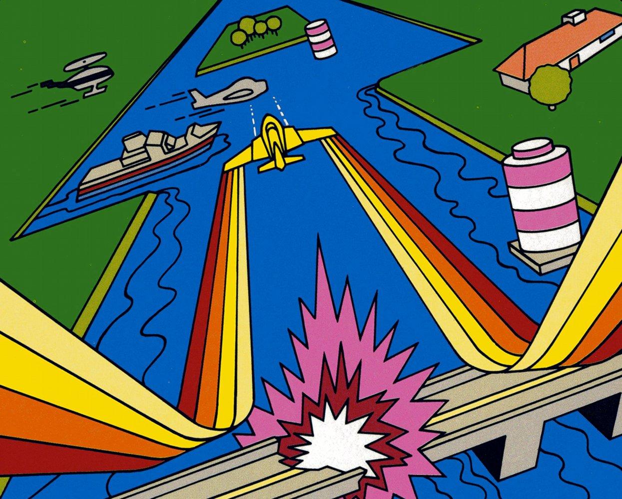 Artwork zu River Raid von Activision (Bild: Activision)