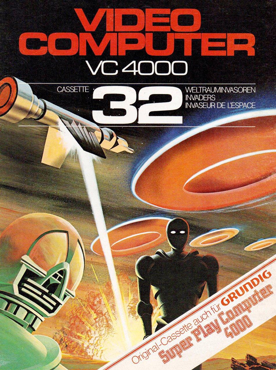 Weltraumspiel Nr. 32 für das von VC 4000 Interton. (Bild: Interton)