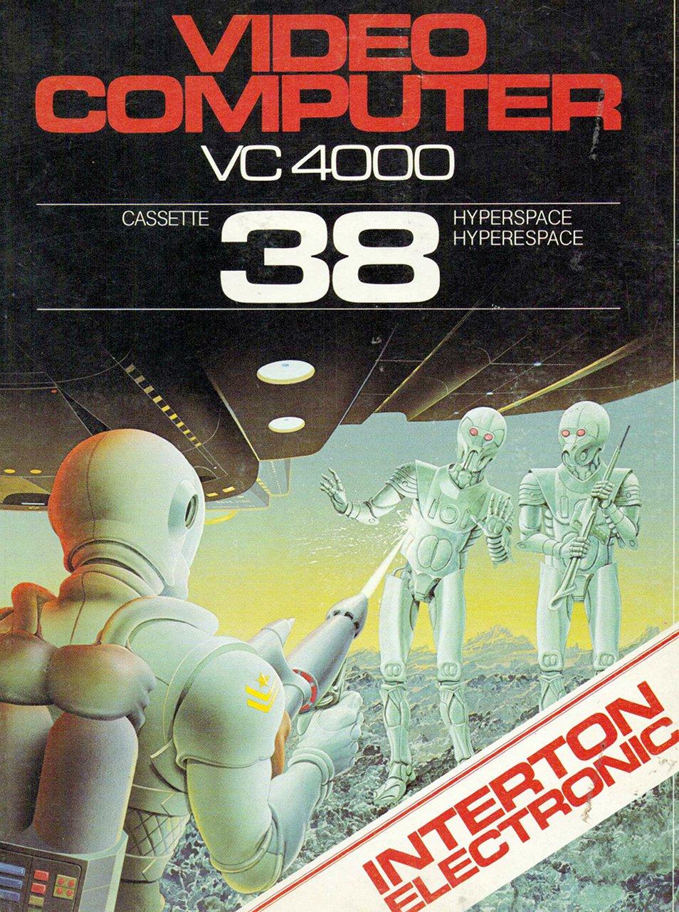 Weltraumspiel Nr. 38 für das von VC 4000 Interton. (Bild: Interton)