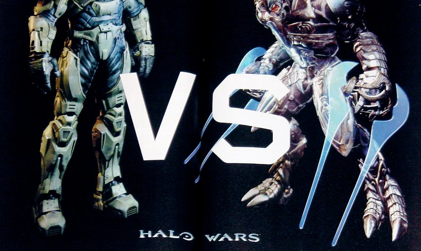 HALO WARS VS. von Microsoft. Marketing für den Master Chief. (Bild: Microsoft)