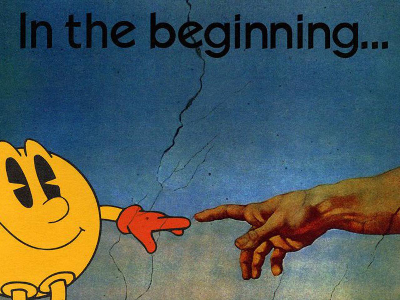 Ein magischer Moment. Pac-Man als göttliche Stilikone. (Bild: Namco)