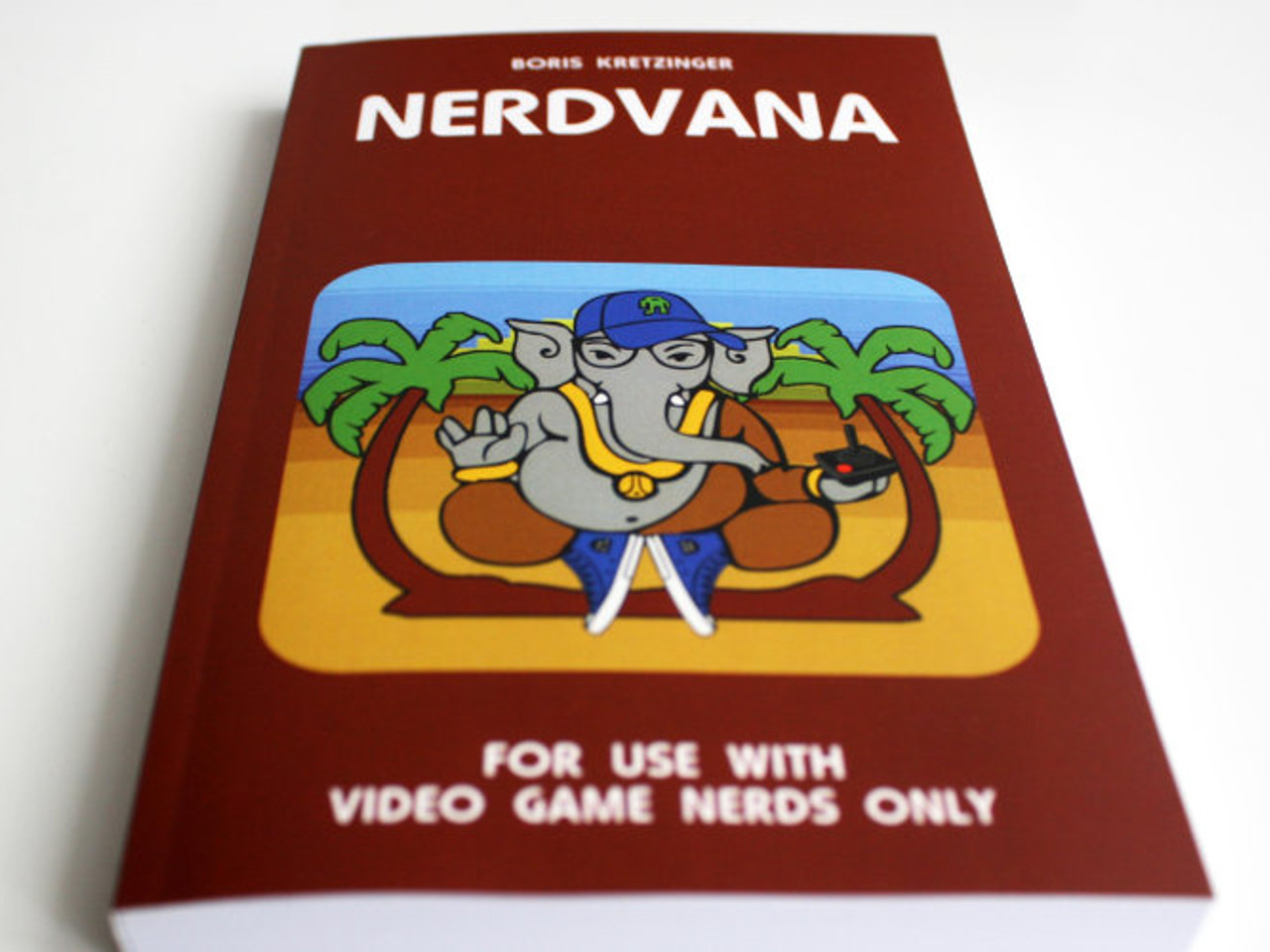 Nerdvana ist ein Roman über Videospiele. (Bild: Boris Kretzinger)