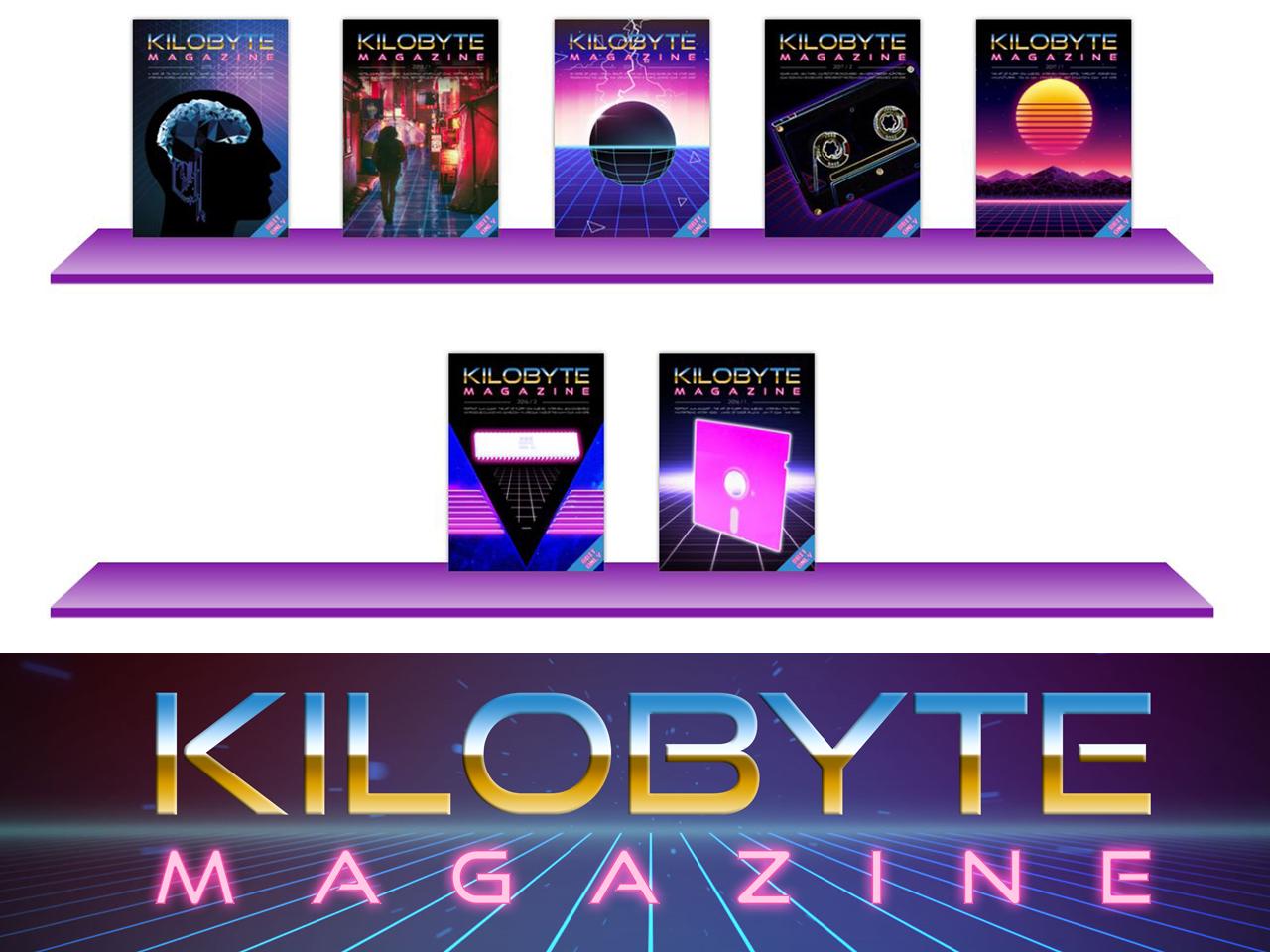 Das virtuelle Regal von KiloByte auf der Webseite retro.wtf. (Bild: Boris Kretzinger)