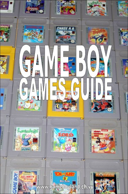 Der Game Boy Games Guide 1.0 mit 220 Seiten und über 620 Game Boy-Spielen. (Bild: Game Boy Land)