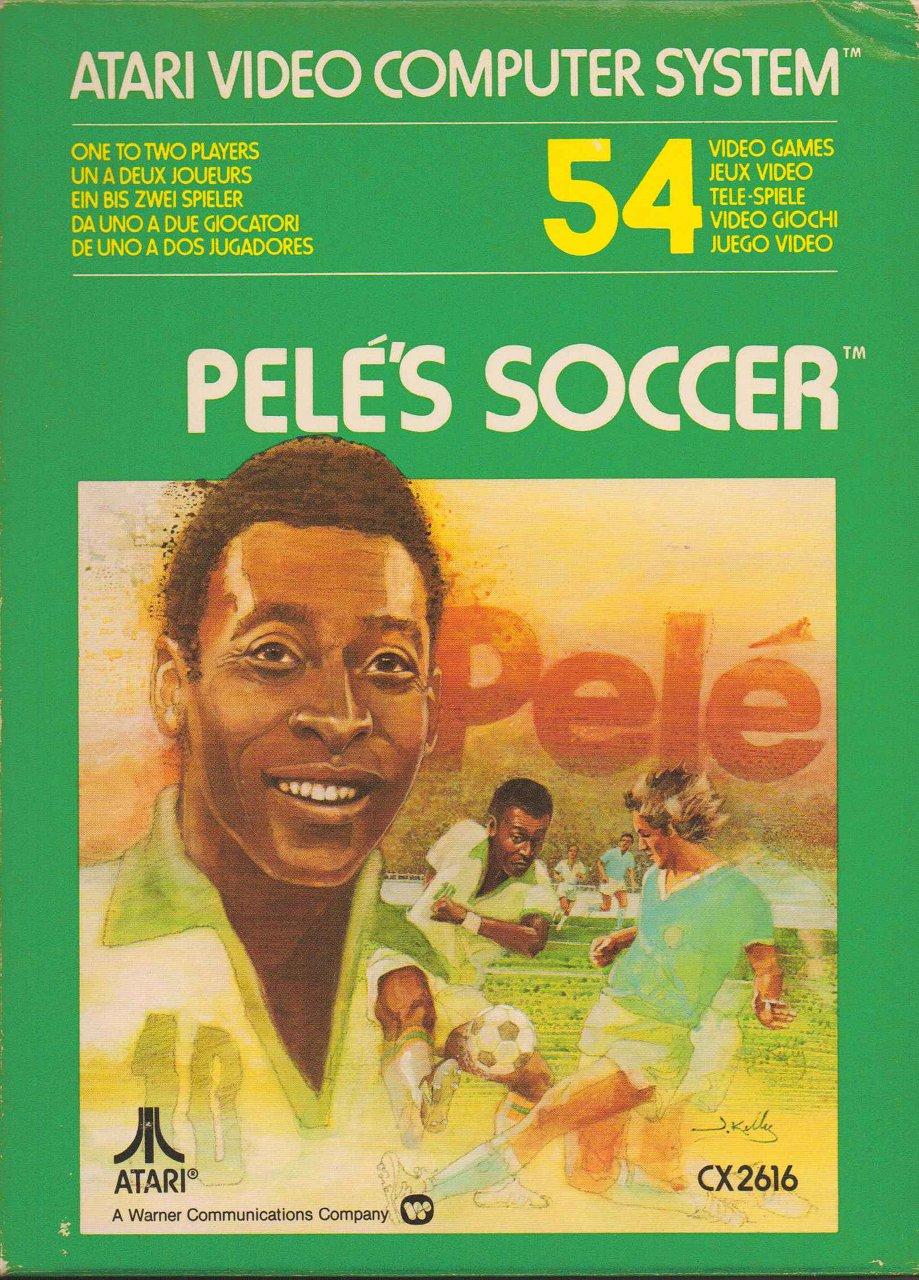 Pelé's Soccer von Atari aus 1981. (Bild: Atari)