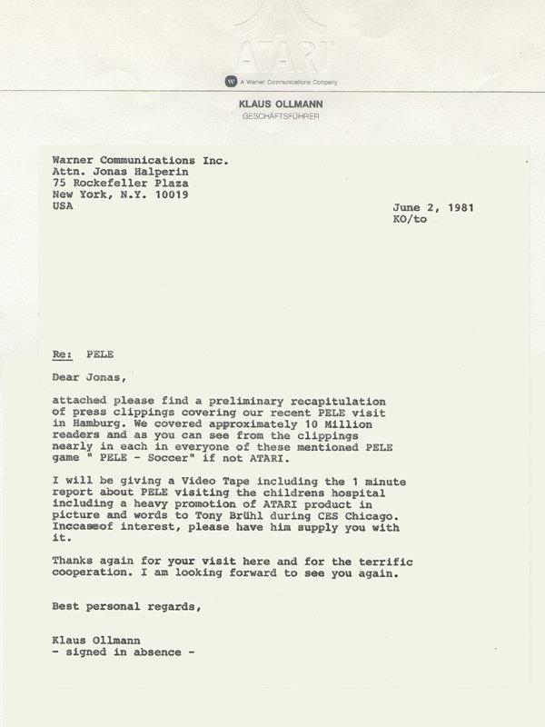 Klaus Ollmann sendet anschließend noch einen Statusbericht an die amerikanische Atari Zentrale in New York. (Bild: Klaus Ollmann)