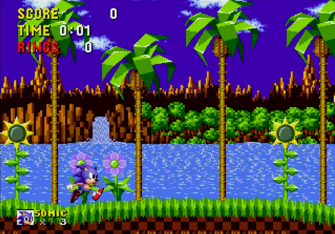 SEGAs Kult-Hit Sonic hat nicht nur grafisch einen hohen Wiedererkennungswert. (Bild: Roberto Kracht / SEGA)