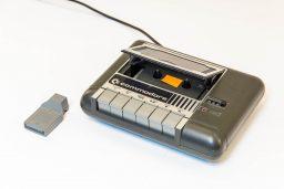 Das Commodore Datasettenlaufwerk 1531. (Bild: Claudio Lione)