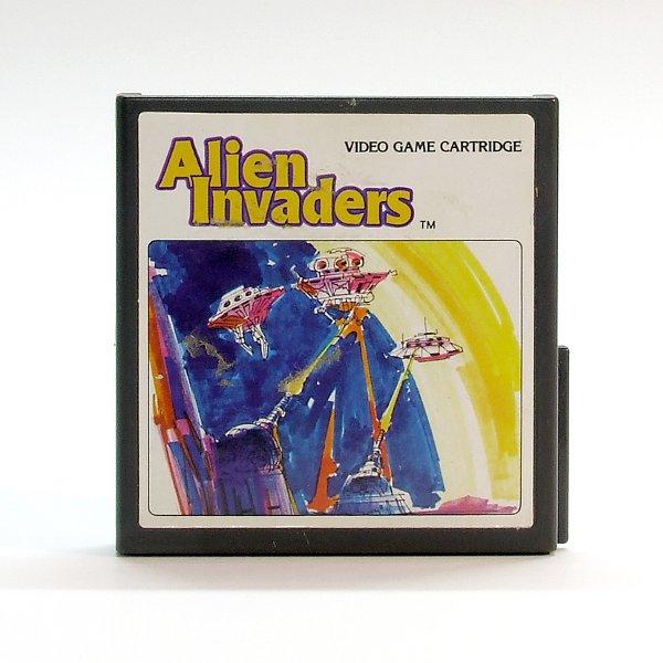 Das Spiele-Cartdridge Alien Invaders von 1982. (Bild: Claudio Lione)