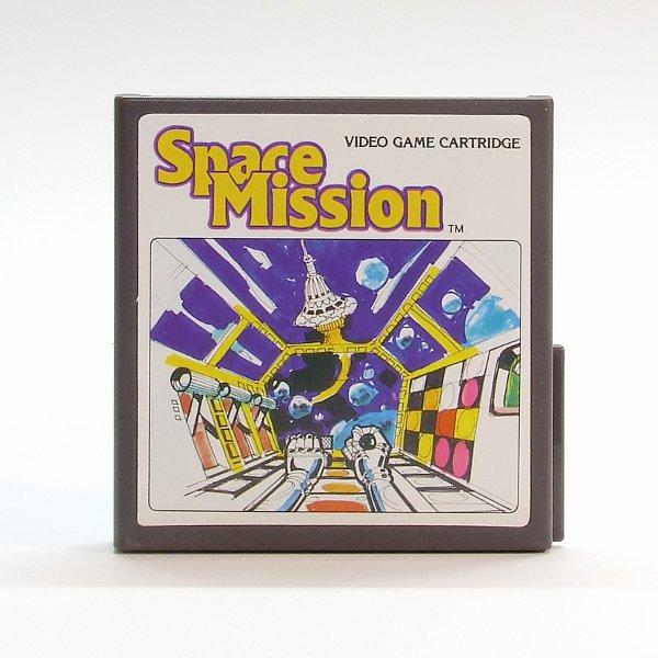 Das Spiele-Cartdridge Space Mission von 1982. (Bild: Claudio Lione)