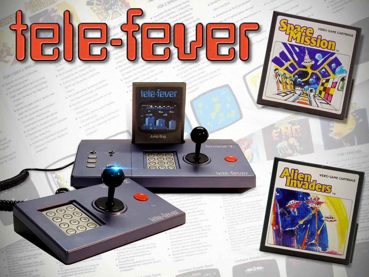 Das Tele Fever ist eine eher seltene Spielkonsole. (Bild: René Achter)