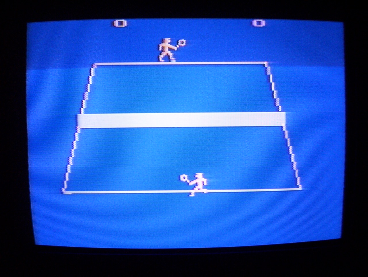 Activision Tennis ohne Activision Logo. (Bild: André Eymann)