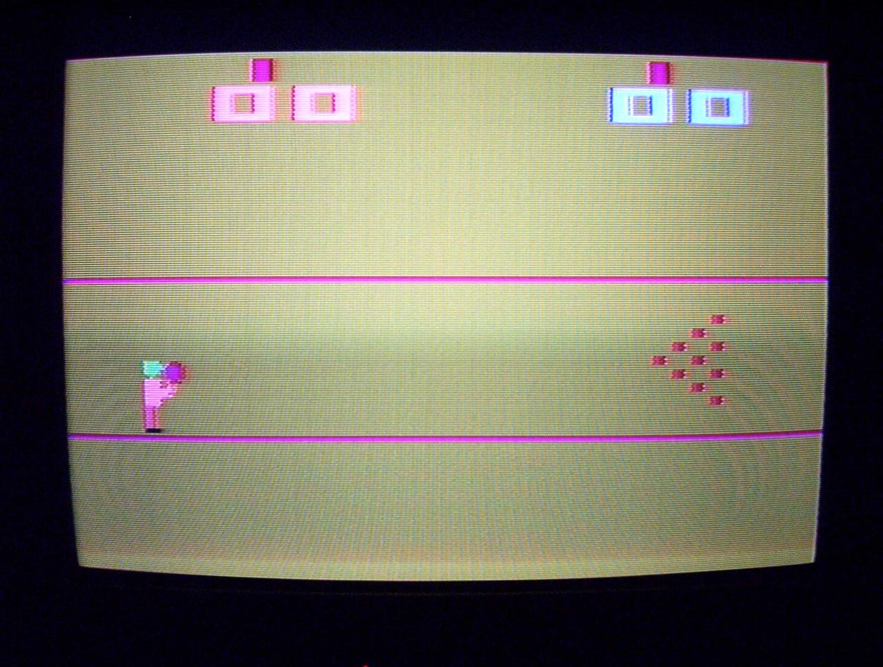 Eine Kopie von Ataris Bowling. (Bild: André Eymann)