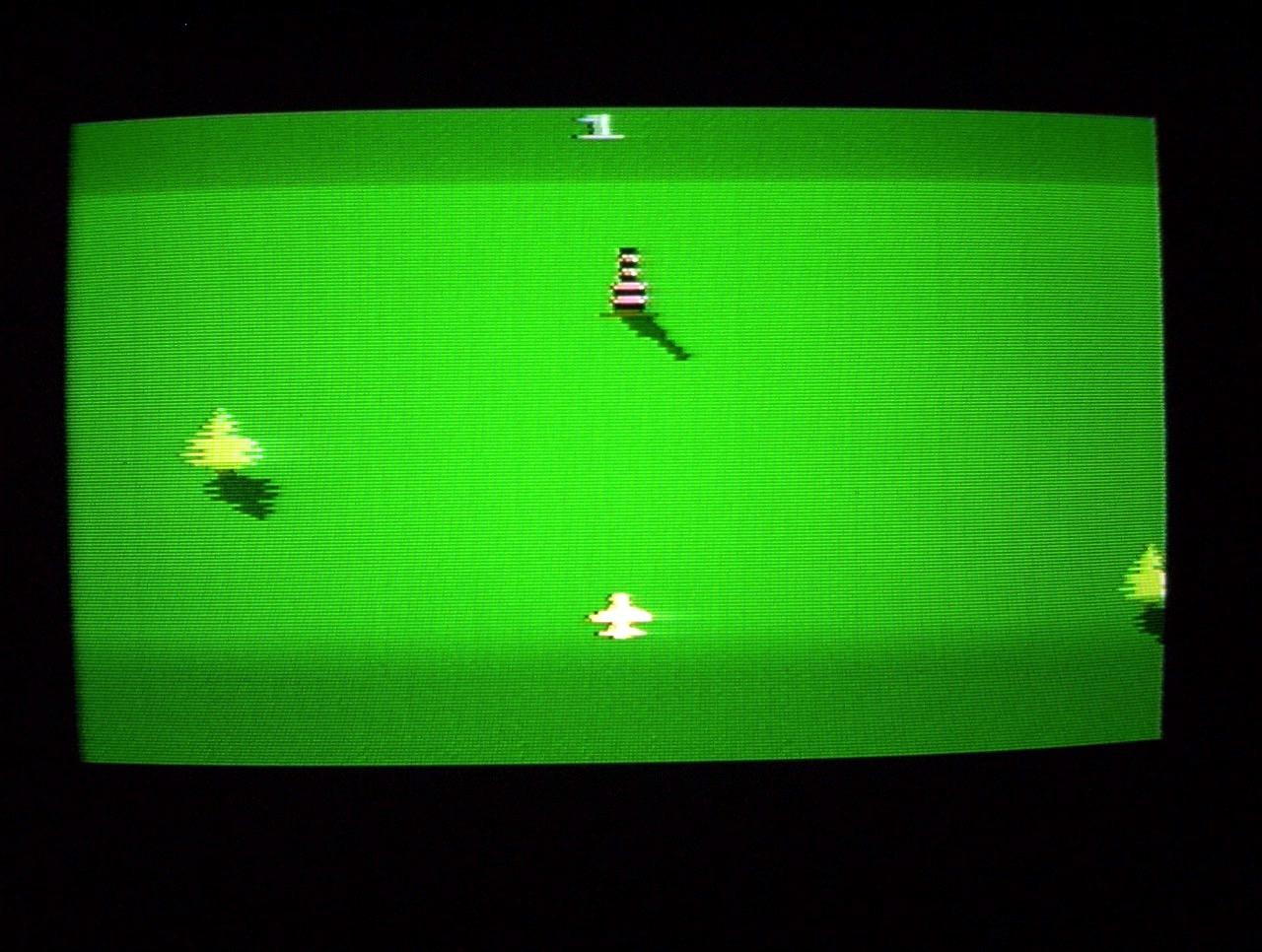 """Eine Kopie von Activisions Sky Jinks auf dem Atari 2600 """"Atlanta Jode"""". (Bild: André Eymann)"""