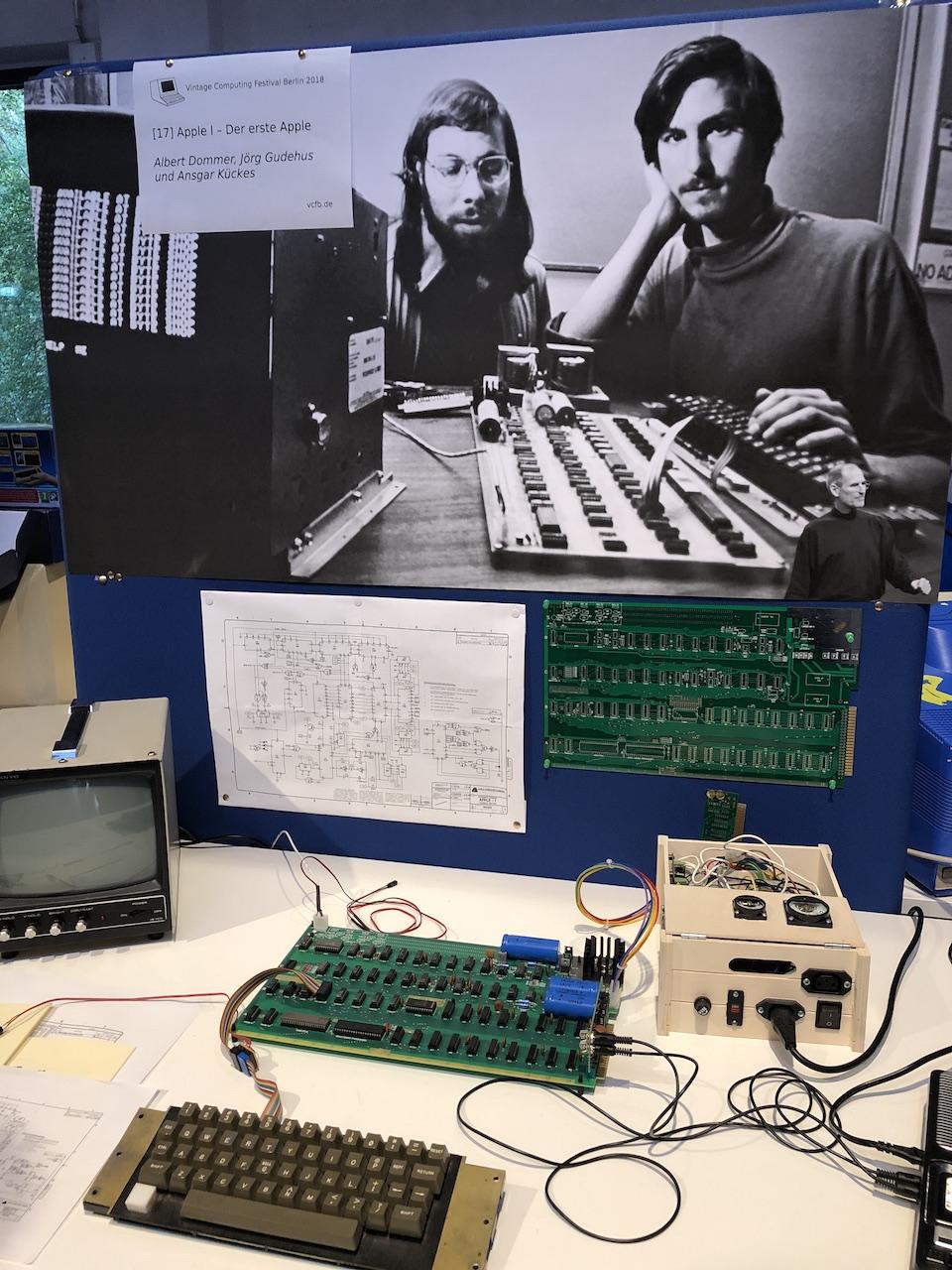 Der Apple I - der erste Computer von Apple. (Bild: Stefan Vogt)