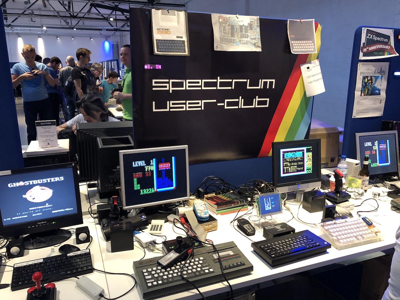 Der Stand des Spectrum User-Club. (Bild: Stefan Vogt)