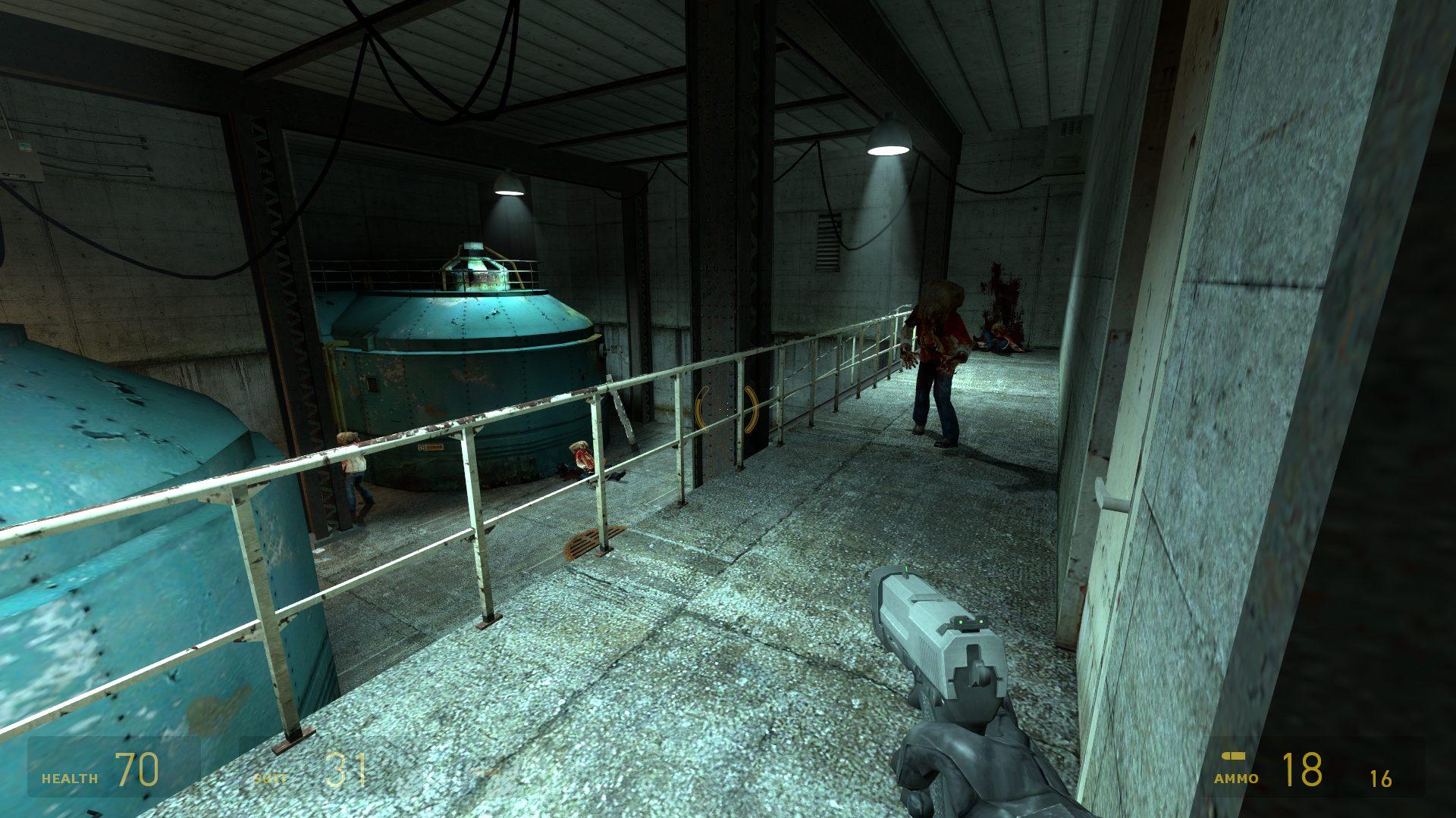 Die Levels und Szenerien erinnern sehr stark an das Original Half-Life 2. (Bild: Robert Reiche)