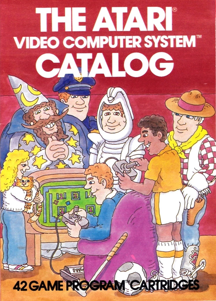 Der Katalog aus dem die Träume sind! In den frühen Jahren gab es auch in Deutschland die bunten Atari-Kataloge. (Bild: Atari)