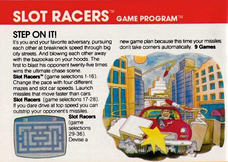 Daher regten lustige Cartoons die Phantasie des Spielers und potenziellen Käufers an. (Bild: Atari)