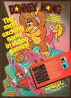 Donkey Kong führte Nintendo erstmals mit an die Spitze der Videospiele. Super Mario war zu dieser Zeit noch ein kleiner mutiger Zimmermann, bevor er später zum Klempner umschulte. (Bild: Electronic Games)