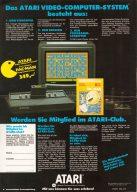 Im April 1983 startet Atari die Werbekampagne für das neue schwarze VCS, inkl. Pac-Man als Spielkassette für 349,- DM. (Bild: Guido Frank)