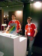 Enno Coners (rechts) und Sebastian Bach vom CSW-Verlag. (Bild: André Eymann)