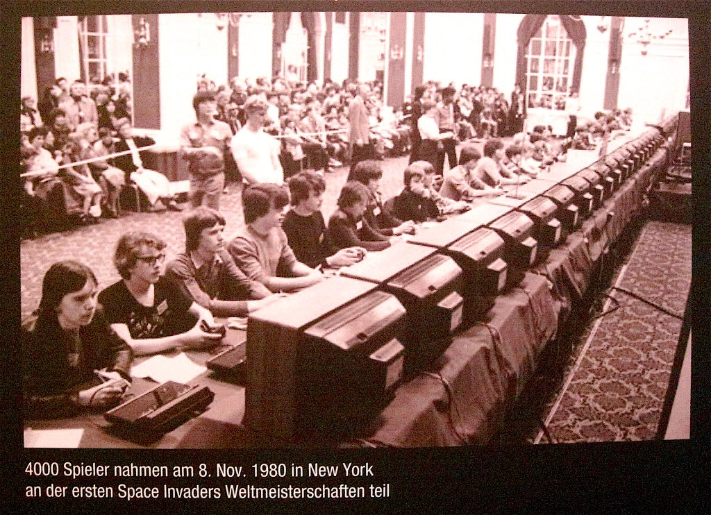 Space Invaders Weltmeisterschaft 1980 in New York. (Bild: André Eymann)