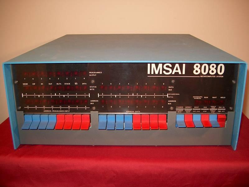 Der IMSAI 8080 von IMS Associates. (Bild: IMS Associates)