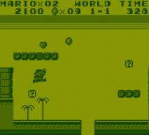 Super Mario Land war grafisch nicht sehr eindrucksvoll, machte aber trotzdem Spaß. (Bild: Leopold Brodecky)