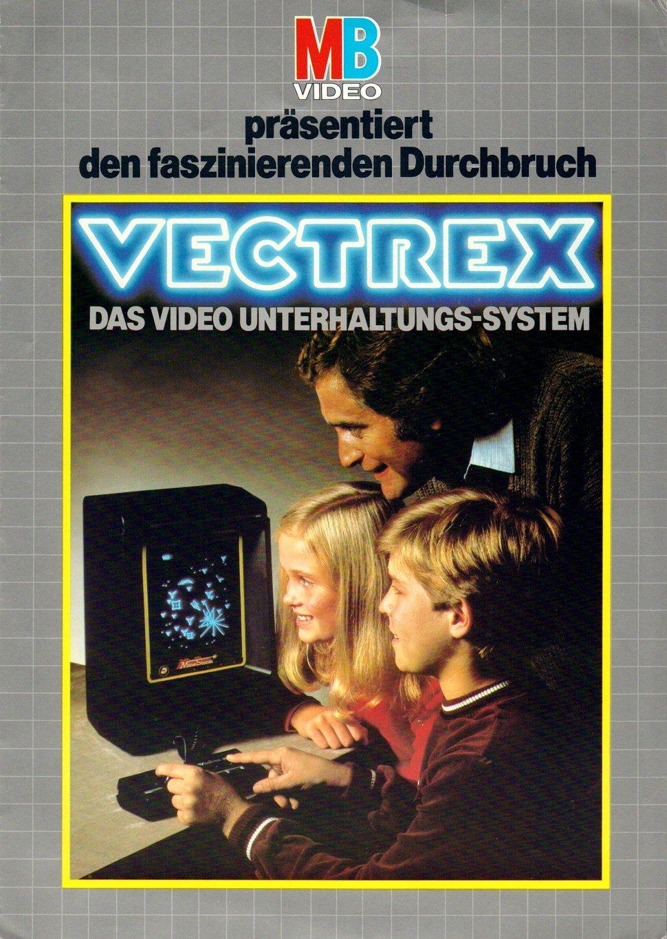 Das Vectrex war eine tragbare Spielhalle. Natürlich mit Vektorgrafik! (Bild: MB)