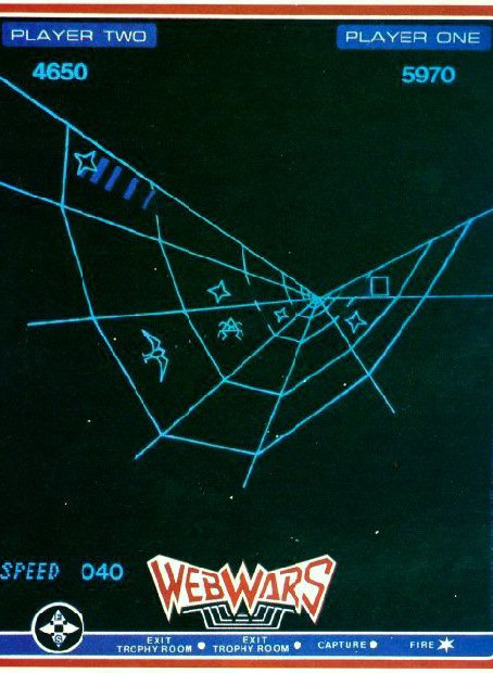 So sieht Web Wars aus. (Bild: Milton Bradley)