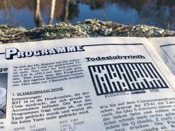 """""""Todeslabyrinth"""": Sie (das S-Zeichen) starten auf der linken Seite. (Bild: André Eymann)"""