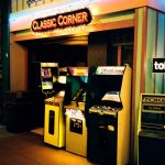 Klassische Automaten in einer US-amerikanischen Arcade. (Bild: André Eymann)