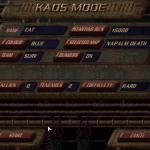 Einstellungen zum KAOS-Modus von KKND Xtreme. (Bild: Axel Teichmann)