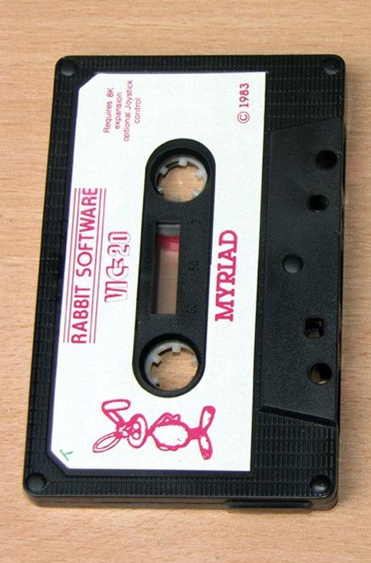 Eine Original-Spielkassette von Myriad. (Bild: Retrogames.co.uk)